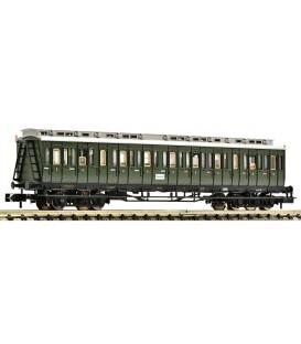 Coche compartimientos de 3a clase con indicadores de cola de tren, DB. Ref: 804601. FLEISCHMANN. N