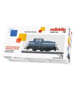 Locomotora Diesel. Ref: 36501. MÄRKLIN. H0