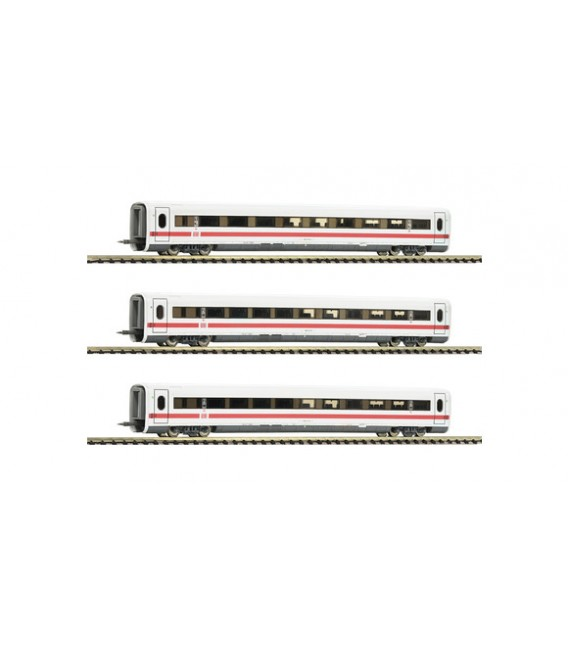 Set complementario de 3 piezas del ICE 1, DB AG Ref: 744202. FLEISCHMANN. N