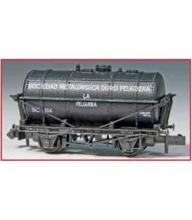 """Vagón Cisterna """"DURO FELGUERA"""" PECO P907A Escala N"""