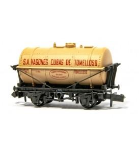 """Vagón Cisterna """"CUBAS DE TOMELLOSO"""" PECO NR-P967A Escala N"""