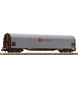Vagón Sliding tarpaulin, tipo: Rilns, ERMEWA  Ref: 837710 FLEISCHMANN. N