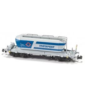 """Vagón Tolva Cementero """"TRANSFESA"""" Nueva decoración  Ref: N34041. MFTRAIN. N"""