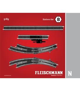 Set ampliación de vias (B). Ref: 9189. FLEISCHMANN. N