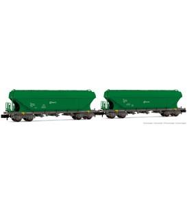 Pack 2 Vagónes tolva cereales TT5 Ref: HN6506. ARNOLD. N