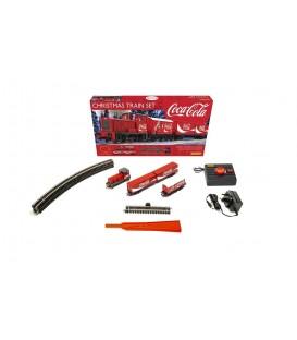 "Tren completo ""Coca Cola Christmas Set"" Ref: R1233P"