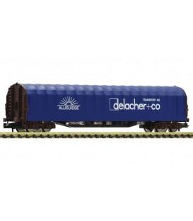 Slide tarpaulin wagon , ÖBB  Ref: 837707 FLEISCHMANN. N