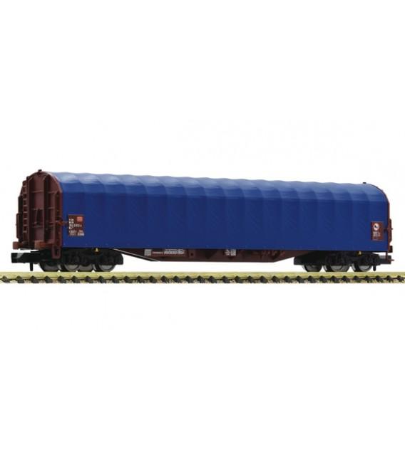 Slide tarpaulin wagon , DB  Ref: 837709 FLEISCHMANN. N