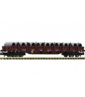 Vagón de plataforma plana con carga de bobinas, DB Ref: 828814 FLEISCHMANN. N