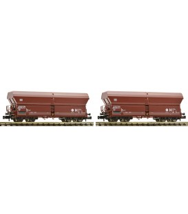 Set de 2 vagones tipo Falns 183, DB AG,  Ref. 852416 FLEISCHMANN. N