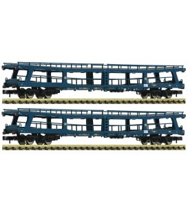 "Set de 2 vagones porta coches expresos, ""Christoforus"" DB  Ref. 881913 FLEISCHMANN. N"