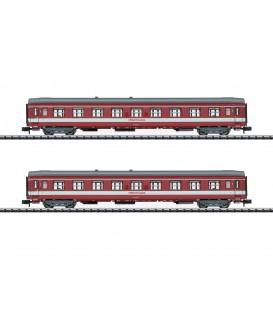 """Set de 2 coches de viajeros """"Le Capitole"""" SNCF  Ref: 15951. MINITRIX. N"""