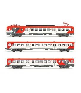 """set de 3 unidades, automotor eléctrico serie 440, RENFE  """"Cercanías"""", ép. V-VI Ref: HN2441. ARNOLD. N"""
