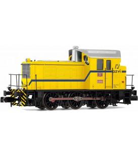 Tractor de maniobras diesel 10393 AZVI, amarillo, ép V Ref: HN2508. Escala