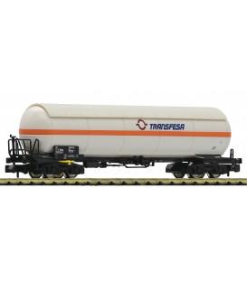 Vagón cisterna 4 ejes para el transporte de gas , RENFE TRANSFESA