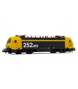 Locomotora eléctrica RENFE 252. Amarillo-Gris Ref: HN2451. ARNOLD. N