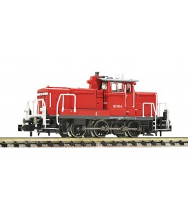 Locomotora diésel serie 363, DB AG. Digital Ref: 722482. FLEISCHMANN. N