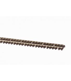 PECO SL-300 Via Flexible StreamlineTraviesa madera de 914mm. ESCALA N