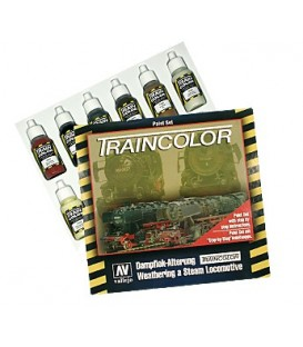 "73099 Estuche ""Train Color"" con 9 colores"