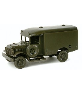 Dodge 3/4 M43 Ambulancia. Ref: 743365. HERPA (MINITANKS). H0