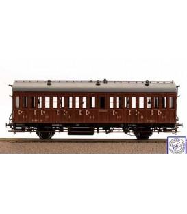 Coche de viajeros RENFE 3ªClase. Nº1832. Ref: 81601. MABAR. H0