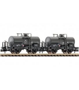 Set de 2 unidades: Vagón cisterna de la On Rail GmbH. Ref: 842606. FLEISCHMANN. N