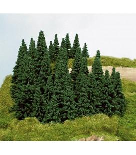 100 árboles (5-14cm). Ref: 2190. HEKI. N y H0