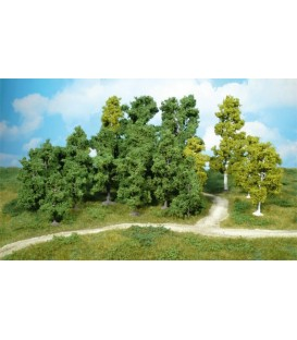 10 Árboles frutales (8-12cm). Ref: 1950. HEKI. H0