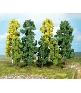 38 Árboles FRONDOSOS (10-18cm). Ref: 1364. HEKI. H0