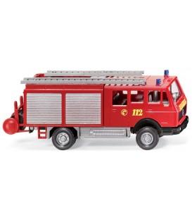 Camión de bomberos Mercedes LF16. Ref:061601. WIKING. H0