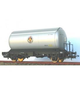 Conjunto 3 cisternas para gases licuados. Plata. Ref: 0758-B. K*TRAIN. H0