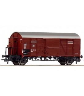 Vagón de mercancías cubierto de la DR. Ref: 66884. ROCO. H0