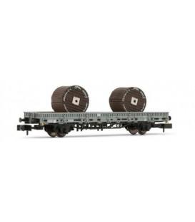 Vagón plataforma RImms, bobinas. Ref: HN6301. ARNOLD. N