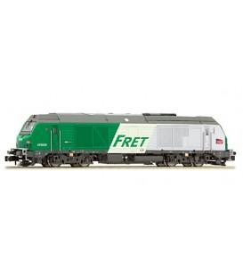 "Locomotora Alstom Prima  SNCF ""FRET"". Ref: 475008. ROCKY RAIL. N"
