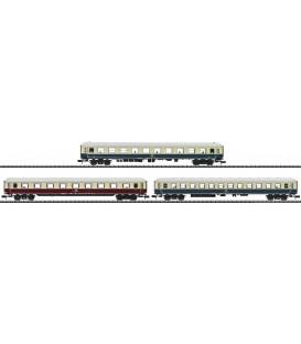 """Set 3 coches de pasajeros """"Histórico IC"""" DB AG. Ref: 15376. MINITRIX. N"""