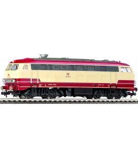 Locomotora diésel BR 218 de la WestFrankenbahn (DB-Regio). Ref: 423401. FLEISCHMANN. H0