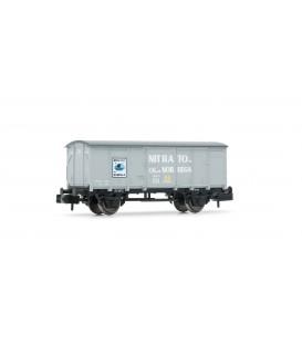 """Vagón cerrado """"Nitrato de Cal de Noruega"""", RENFE. Ref: HN6300. ARNOLD. N"""