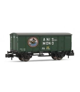 """Vagón cerrado """"ANIS DEL MONO"""", RENFE. Ref: HN6297. ARNOLD. N"""