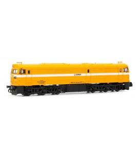 Locomotora diesel 321.042 COMSA Amarillo. Ref: HN2260. ARNOLD. N
