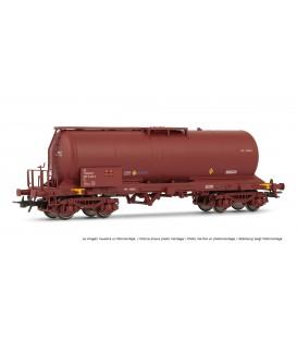 Vagón cisterna RENFE Rojo óxido. Ref: E5892. ELECTROTREN. H0