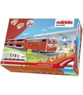 """Caja de iniciación """"Expreso regional"""". Ref: 29209. MARKLIN. H0"""