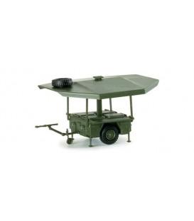 Kärcher field kitchen trailer. Ref: 740715. HERPA (MINITANKS). H0